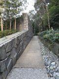 الصين [ييإكسين] أسود يستنبت حجارة أردواز يفرش ركن أمر غير إعتيادي يشكّل لأنّ أرضيّة وجدار [كلدّينغ]
