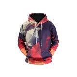Custom/Mode personnalisé impression en sublimation/imprimé en tricot de coton/polyester pull Mesdames/femmes/hommes le manteau