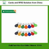 입구 가드 (꼬리표 03)를 위한 125kHz Em4100 Tk4100 플라스틱 RFID Keyfob