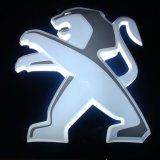 3D LED helles kundenspezifisches Metallauto-Emblem-Auto-acrylsauerfirmenzeichen