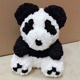 40cm fleur artificielle rose Panda cadeaux uniques pour les enfants ou petite amie