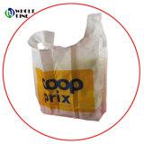 Bolsa de compras de plegado Tote/Eco Bolsa de nylon de impresión personalizado