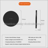 Qi pad estándar de 10W cargador inalámbrico para Sumsung/iPhone