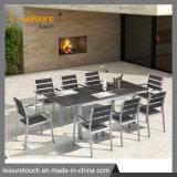 Alumínio pátio mesa e cadeira jardim ao ar livre mobiliário de Ajuste