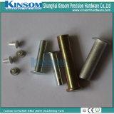 De korte Semi Holle Klinknagels van het Aluminium met het Hoofd van de Paddestoel