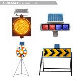 태양 에너지 LED 저속한 도로 안전 소통량 경고등