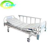 中央ロックの足車が付いている手動透析のベッド