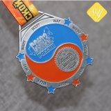 Напряжение питания на заводе религиозных честь Custom Блестящие цветные лаки награда спортивные медали ленты