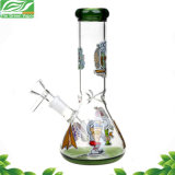 Neuer Entwurfs-Karikatur-Glasbecher-rauchendes Wasser-Rohr