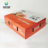 Oranje Fruit die het GolfVakje van het Karton van de Druk van het Document verpakken