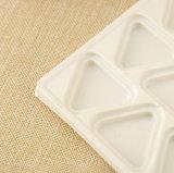 عالة بسكويت بيضاء بلاستيكيّة يعبّئ صينيّة [إك-فريندلي]