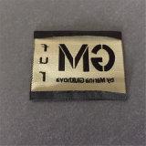 -El logotipo personalizado hecho borde suave de alta densidad de la etiqueta tejida de prendas de vestir