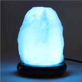 Красочные Crystal Гималайский соли светильник с ночной свет