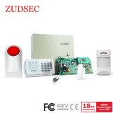 Sistema de alarme de intrusão de intrusão inteligente com a PSTN+rede GSM
