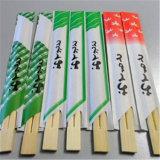 Bacchette di bambù 100% imballate con carte a gettare