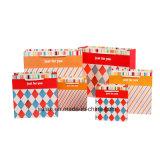 Logotipo personalizado grandes embalagens impressas Dom sacos de papel comercial para o comércio por grosso