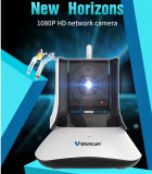 Megapixel 1080P屋内IPの赤外線ドームのデジタルビデオ・カメラ