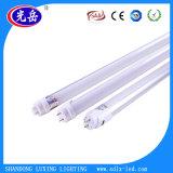 Lumière élevée en verre en aluminium de tube du lumen 1.2m T8 DEL