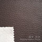 Tissu gravé en relief de cuir de polyester de tissu de Suedette pour la maison