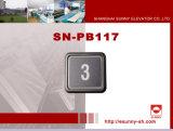 Quadratisches Pushbutton für Elevator (SN-PB117)