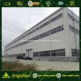 Magazzino prefabbricato dell'acciaio della costruzione di basso costo della Cina