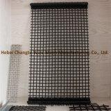 High-Carbon 강철 편평한 위원회 자물쇠에 의하여 주름을 잡는 직물 철망사