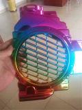 Machine convenable de placage d'arc-en-ciel de vide de verrerie d'acier inoxydable