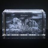 cubo cristalino del laser 3D (DS022)
