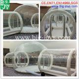 Globo insuflável clara de PVC Camping tenda (tenda04)