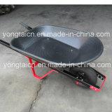 4cuft 58 Litros Black PP HDPE Bandeja de poliéster para o carrinho de mão