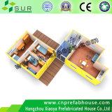Prefab móvel/casa modular/móvel do recipiente para a vida provisória