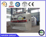 Машина гидровлической гильотины QC11Y-8X4000 режа, автомат для резки стальной плиты
