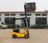 1トンの販売のための四輪駆動の電気フォークリフトの上昇トラック