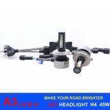 45W 6000lm 팬 디자인 Canbus 자동 램프 H4 LED A3 LED 헤드라이트 6000k H16 Psx24W H7 H11