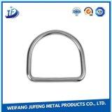 """Anelli a """"D"""" in lega di zinco dell'acciaio inossidabile di ODM/OEM"""