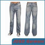 Jeans del denim della lavata della scimmia degli uomini (JC3053)