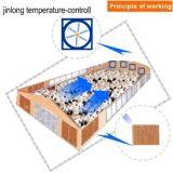 温室の換気のための壁に取り付けられた換気扇
