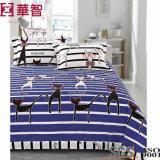 Roupa de cama reativa impressa de algodão 4PCS