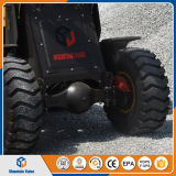Mini cargador chino de la rueda del extremo de la fronda con precio bajo