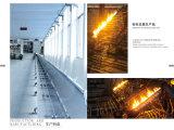 ampoule 2ml ambre faite de glace de Borosilicate inférieure avec le point d'arrêt