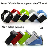 SIMのカードスロット(A1)が付いているBluetoothの多彩なスマートな腕時計