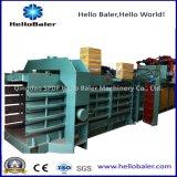 Pressa per balle carta straccia/della macchina d'imballaggio idraulica orizzontale