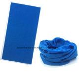주문품 로고에 의하여 인쇄되는 폴리에스테 Microfiber 이음새가 없는 다기능 담황색 밴대나 머리띠