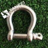 ステンレス鋼AISI304/316 Dの手錠