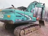 Máquina escavadora japonesa usada muito boa Kobelco Sk200-8 da esteira rolante hidráulica da condição de trabalho (construção equipment2011) para a venda