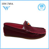 Chaussures occasionnelles élevées de modèle neuf de mode de qualité pour l'enfant