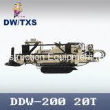 Máquina de perforación direccional horizontal Ddw-200 con el cargador de tubo de perforación automática
