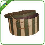 Boîte ronde en carton design personnalisé