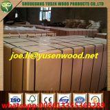 La madera contrachapada hecha frente melamina de la base 18m m del álamo, papel de la melamina hizo frente a la madera contrachapada
