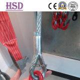 Кольцо веревочки провода такелажирования гальванизированное оборудованием DIN6899b с сертификатом